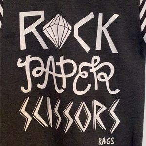 "Rags to Raches One Pieces - RAGS TO RACHES ""Rock Paper Scissors"" Rag"